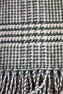 Wool Angora Scarf ALLAA 19759: Olive