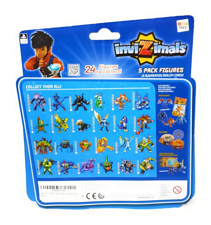 IMC Toys 30039 - 1 Pack 5 Figuras Invizimals, modelo surtido