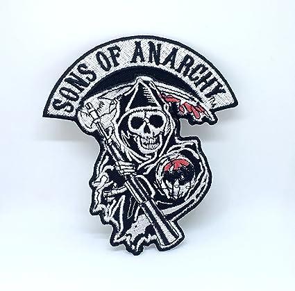Sons of Anarchy - Chaqueta de ciclista con calavera, para ...
