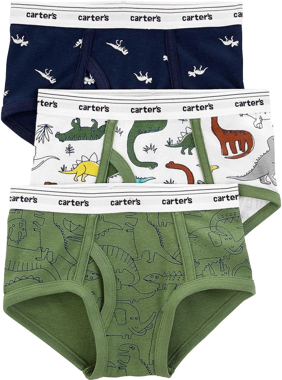 Transportation Toddler//Kid Carters Little Boys 3 Pack Underwear