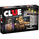Clue Five Nights at Freddy's Board Game | Based on Five Nights at Freddy's Video Game | Officially Licensed Five Nights at Freddy's Merchandise | Themed Classic Clue Game