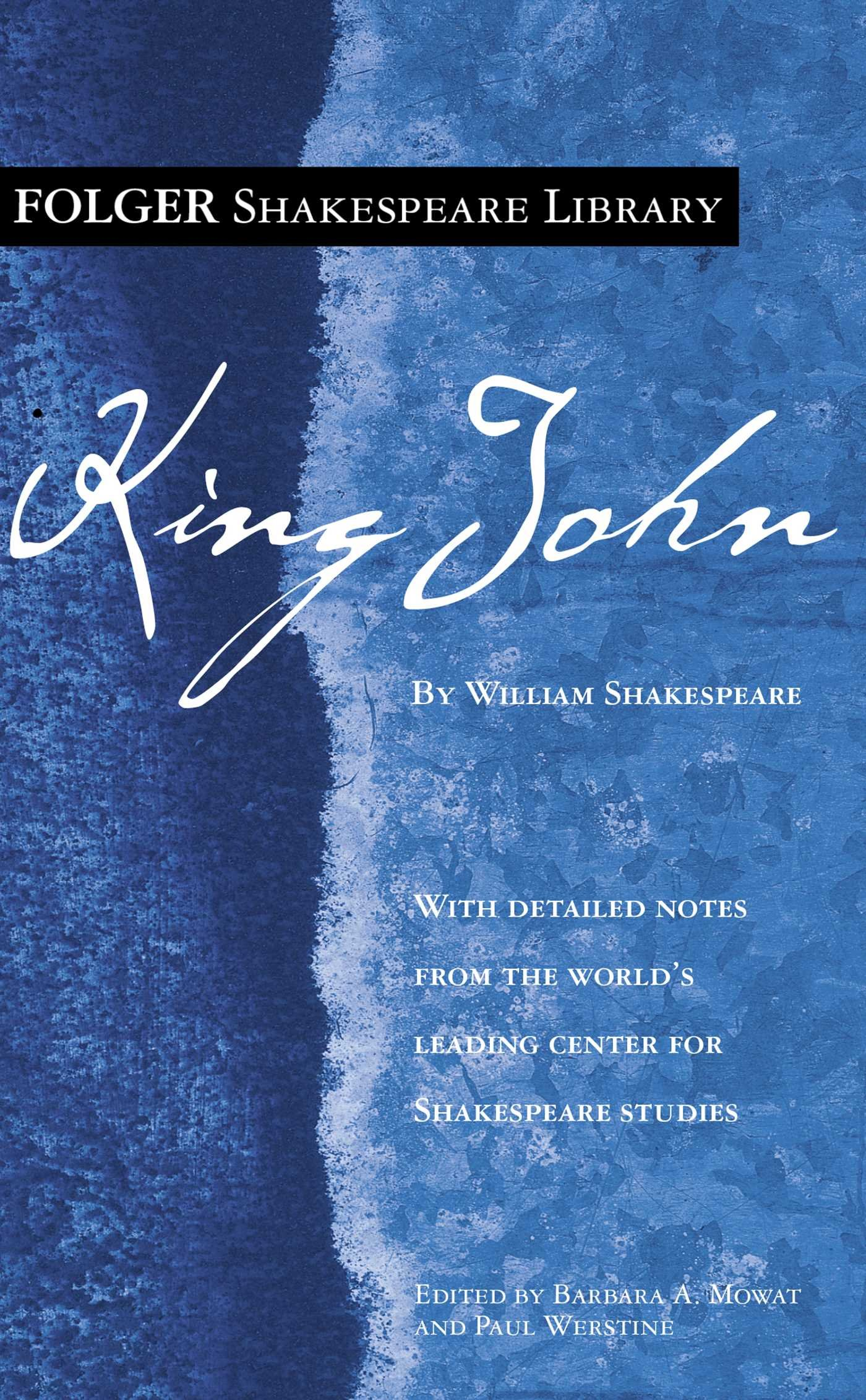 King John (Folger Shakespeare Library)