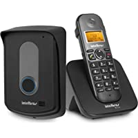 Telefone sem Fio com Ramal Externo TIS 5010, Intelbras TIS 5010, Preto