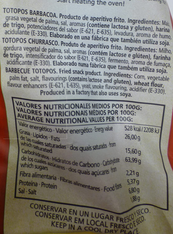 Ranchera M-Xico Nachos Barbacoa Totopos - 200 gr - [Pack de 5]: Amazon.es: Alimentación y bebidas