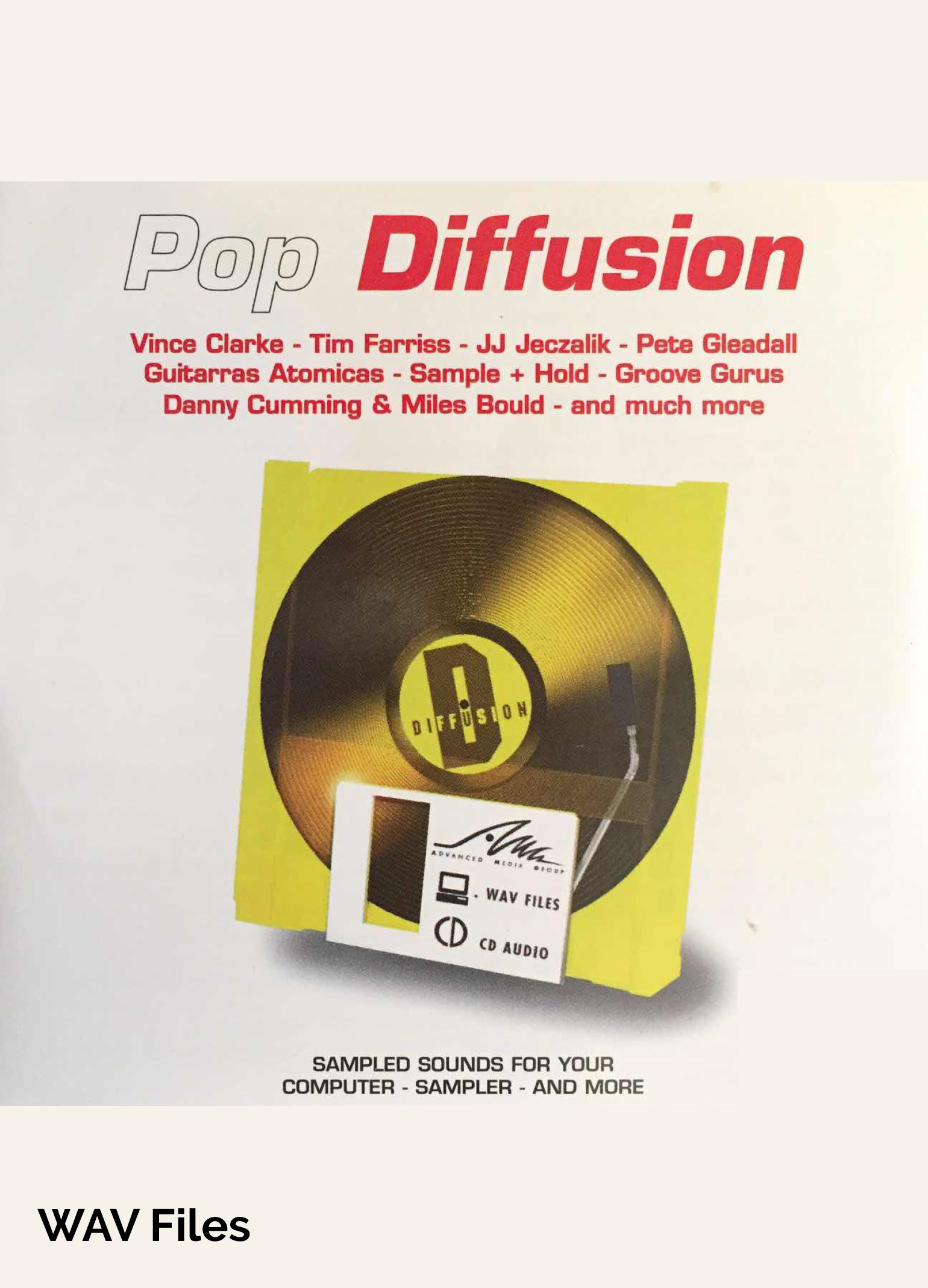 Pop Diffusion - Pop Sample Library at Special Low Price - WAV Files [Download]