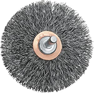 DEWALT DW4903 3-Inch Crimped Flat Faced End Wire Brush
