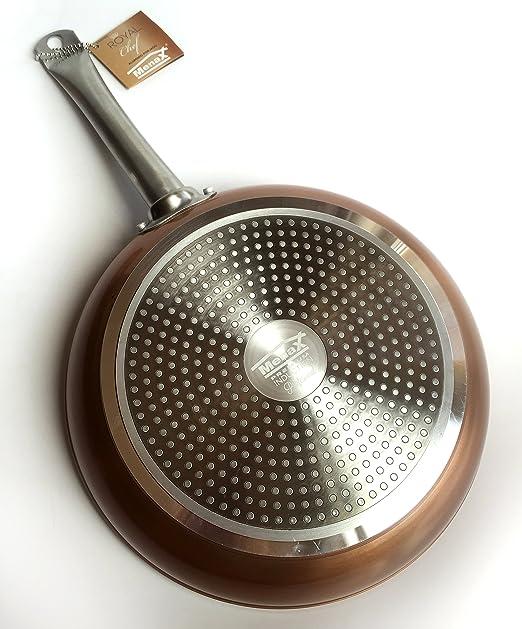 8 opinioni per Royal Chef- Padella Proffessionale Antiderente in Alluminio- Premium Quality- Ø