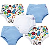 Bambino Mio, Potty Training Pants, Mixed Boy Outer Space, 2-3 Years, 5 Pack