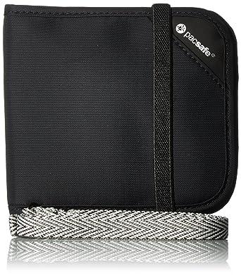 08e7ba68eed Amazon.com: Pacsafe Rfidsafe V100 Anti-Theft RFID Blocking Bi-fold ...