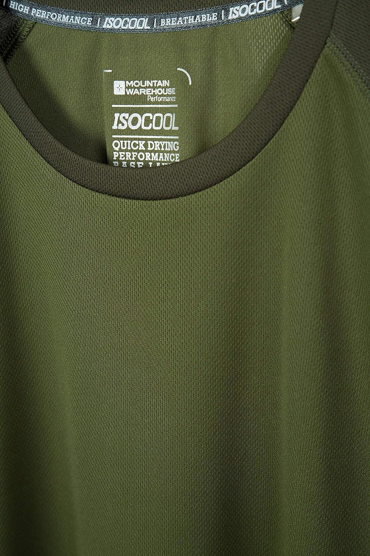 Mountain Warehouse Femme T-shirt avec IsoCool Technologie Protection UV-UPF30+