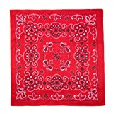 CTM 27 Inch Extra Large Cotton Texas Paisley