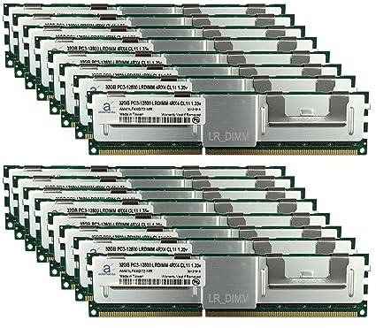 Adamanta 512GB (16x32GB) LRDIMM Memory Upgrade for HP Z820