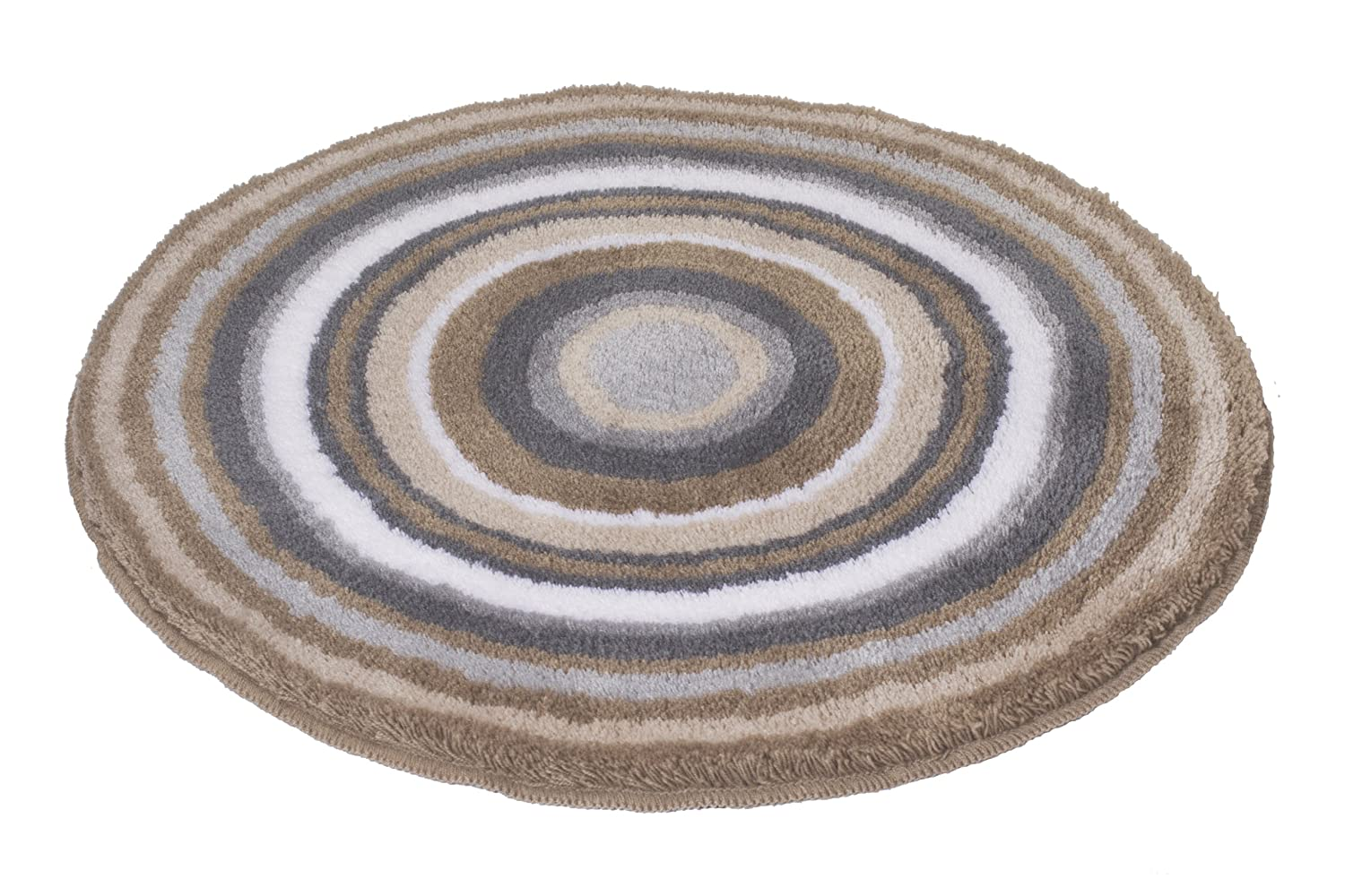 Meusch Mandala Round Bath Mat Taupe 60 Cm Amazon Co Uk Kitchen