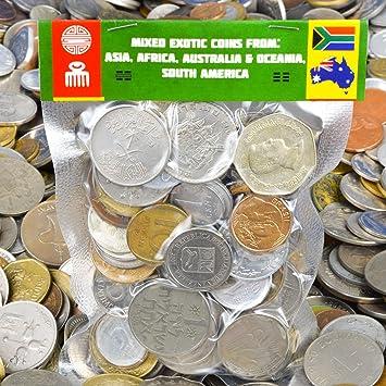 Amazon.com: Lote de 20 – 100 unidades monedas exótico, de ...