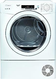 Candy Gcc581nb 8kg 4 Temps Sensor Condenser Dryer With Reverse