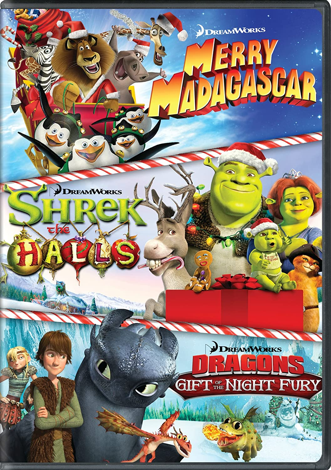 Amazon.com: Dreamworks Holiday Classics (Merry Madagascar / Shrek ...