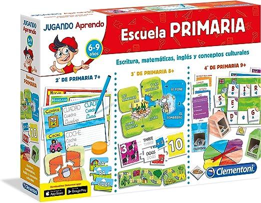 Clementoni- Jugando aprendo Escuela Primaria 45x31 Educación ...