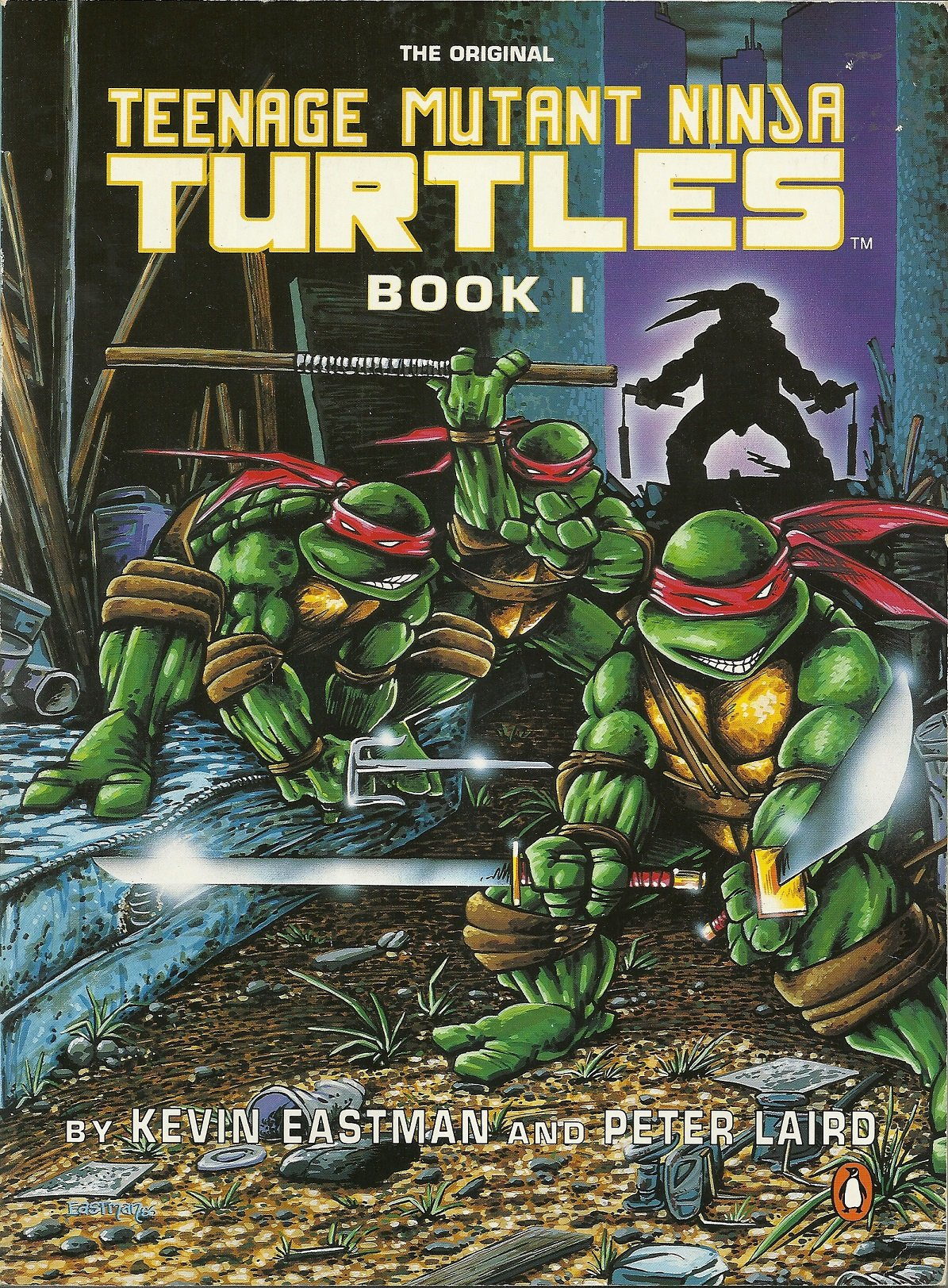 Teenage Mutant Ninja Turtles Book 1: Book I Penguin graphic ...