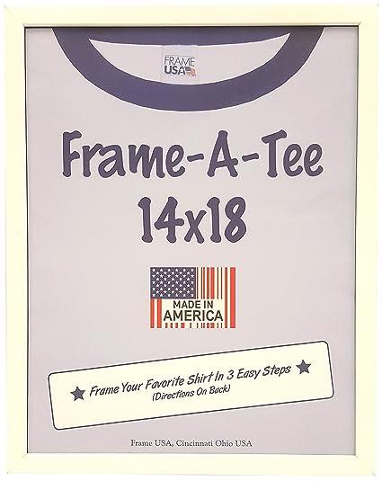 Amazon.com: Frame USA F27300 T-Shirt Frames (14x18, White) 27300 ...