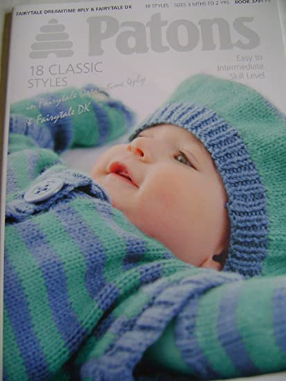 Patons Baby Knitting Pattern Book 18 Designs In Dk Amazon Co Uk