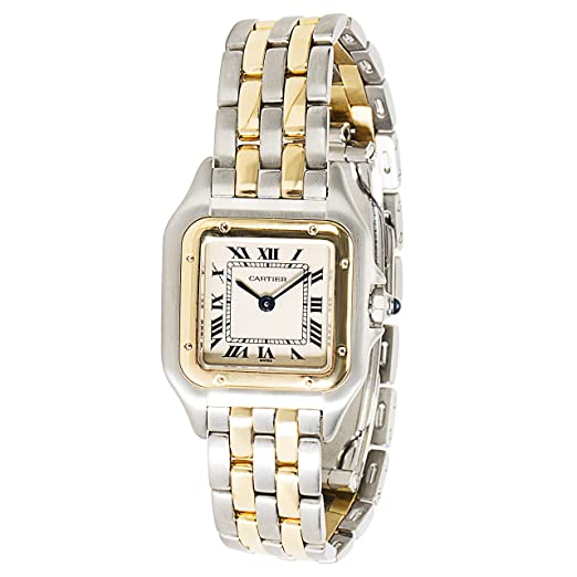Cartier Panthere Swiss-Quartz Womens Watch w25029b6 (Certificado) de Segunda Mano: Cartier: Amazon.es: Relojes