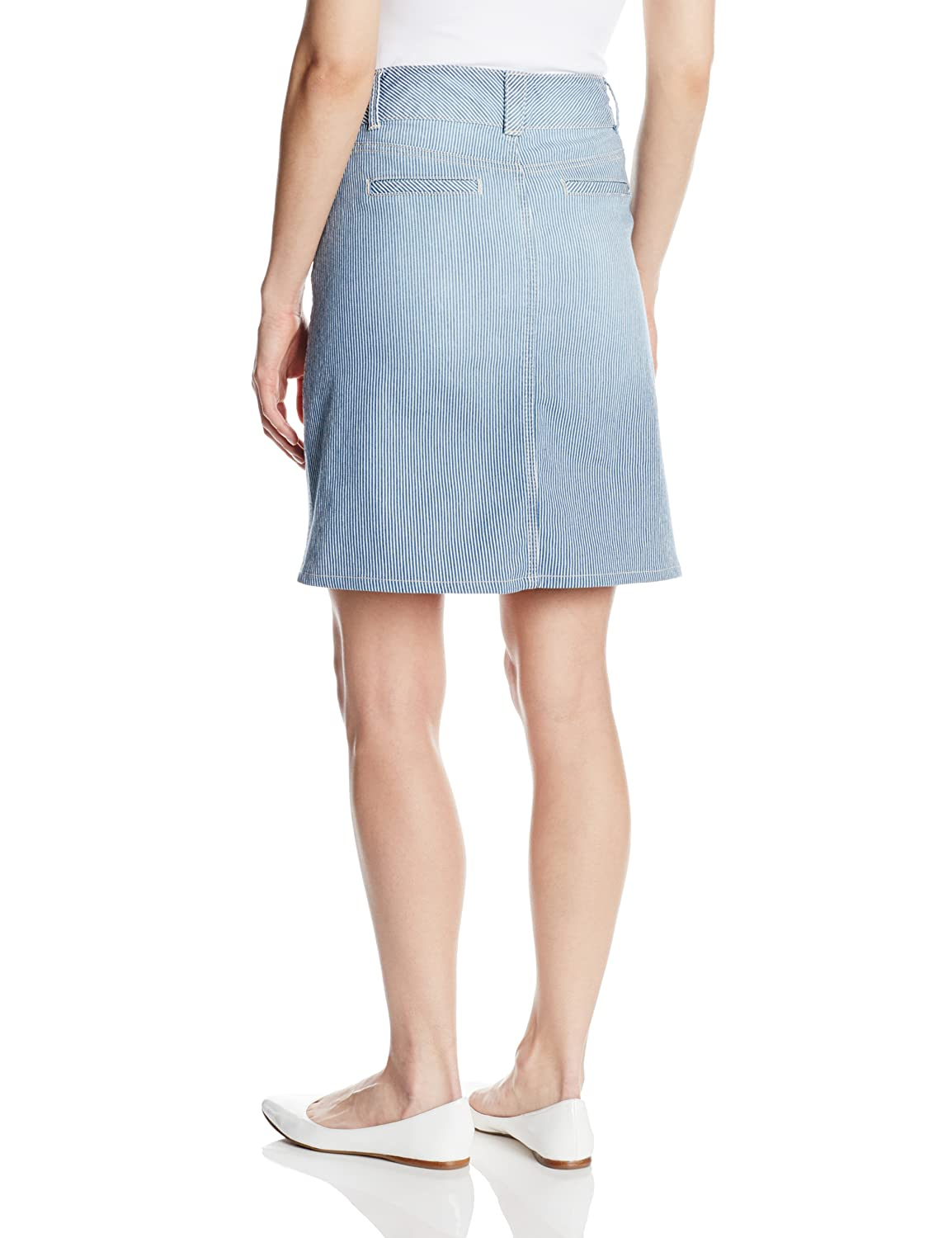 NYDJ Womens Ray a Line Skirt Old West Wash 12 Not Your Daughter/'s Jeans Women/'s Collection M81E31OW