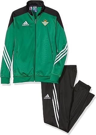 adidas PES Suit Y Chándal Real Betis Balompie 1ª Equipación 2015 ...