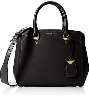 b8d020ab2f1d Michael Kors Women s Benning Medium Leather Satchel Shoulder Bag