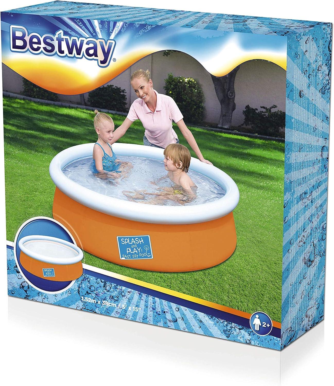 Bestway 57241 - Piscina Desmontable Autoportante Infantil Mi ...