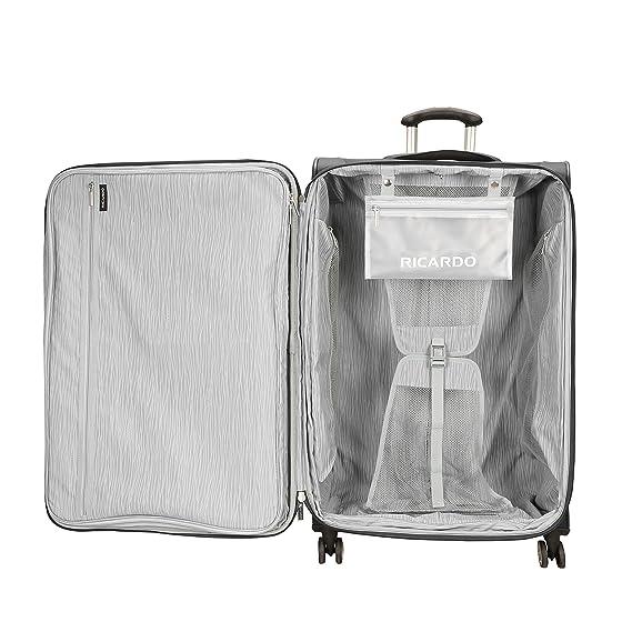 616727747af Amazon.com   Ricardo Beverly Hills Mar Vista 2.0 29-inch Spinner, Black    Suitcases