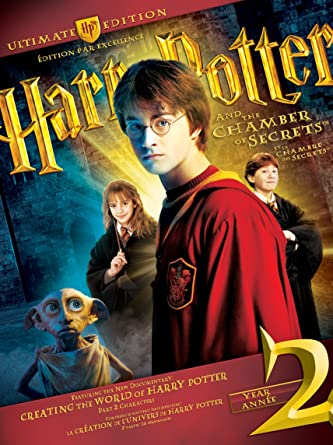 harry potter and the chamber of secrets extended version dvd