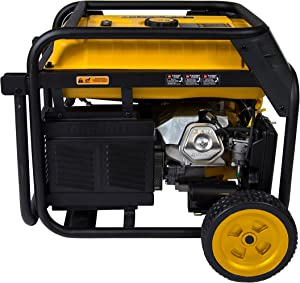 Electric Start Gas or Propane Dual Fuel Portable Generator