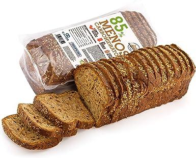 Pan Proteico SiempreTierno XXL 500 grs · Pan Keto Proteinado Bajo en Carbohidratos · 28% de Proteínas · Ideal dietas Hipocalóricas y Altas en ...