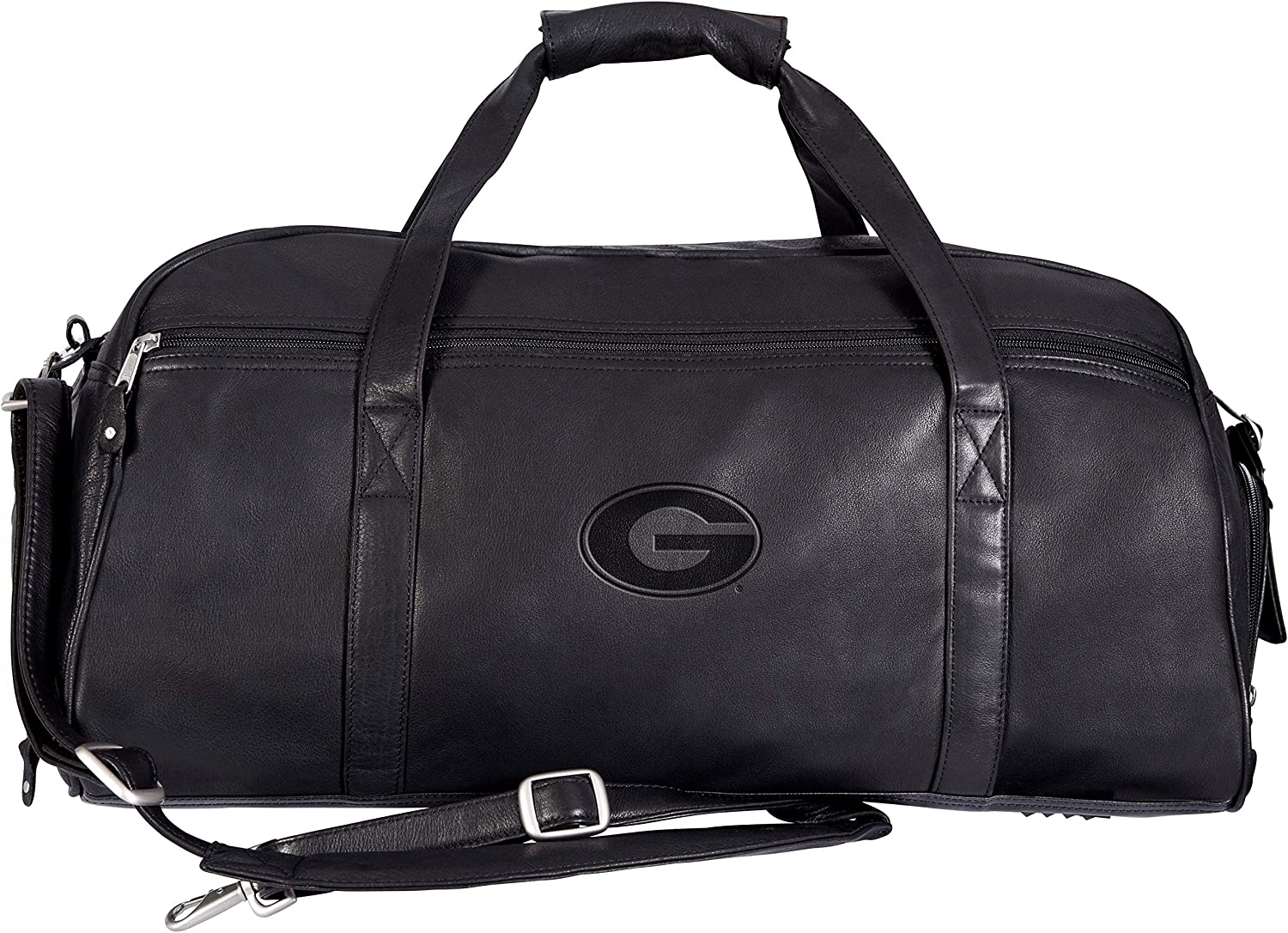 Black One Size Canyon Outback NCAA Georgia Bulldogs Marble Canyon Sport Duffel