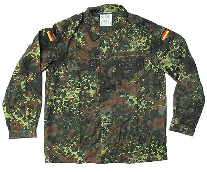 cf78fa809ba50 Amazon.com: New Unissued German Army Jacket Flecktarn Camouflage ...