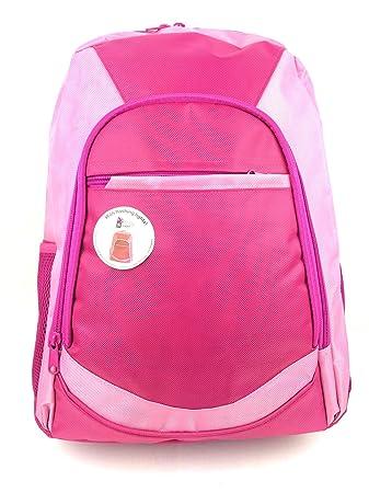 GIRLS LED FLASHING LIGHTS PINK LARGE BACKPACK RUCKSACK SCHOOL WORK GYM  SPORTS BAG  Amazon.co.uk  Luggage 4b0e4c07752c1