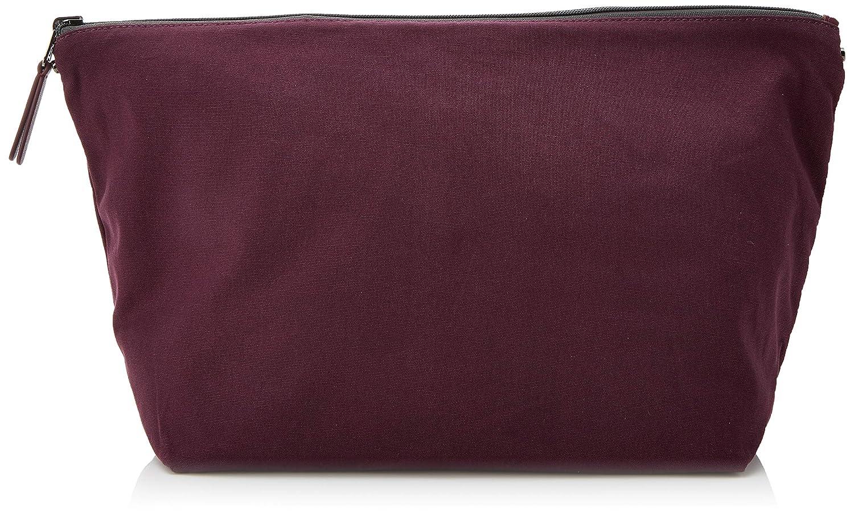 Tous Bolsa Mediana Reversible K. Shock, Tela y de Playa para Mujer, 14x24x30 cm (W x H x L) Multicolor (Gris/Vino) 895970177