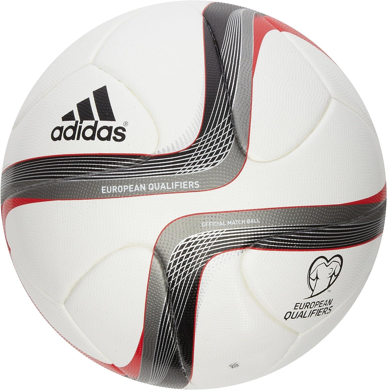 adidas Fußball Euro Qualifier Offizieller Balón, Hombre, Blanco ...