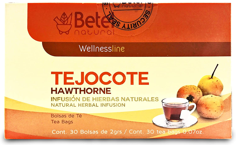 Amazon.com: Tejocote Te - Betel Natural - Hawthorne Tea - 30 ...