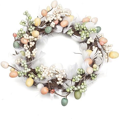 Easter Egg Wreath Spring Wreath, Easter Wreath Front Door Wreath