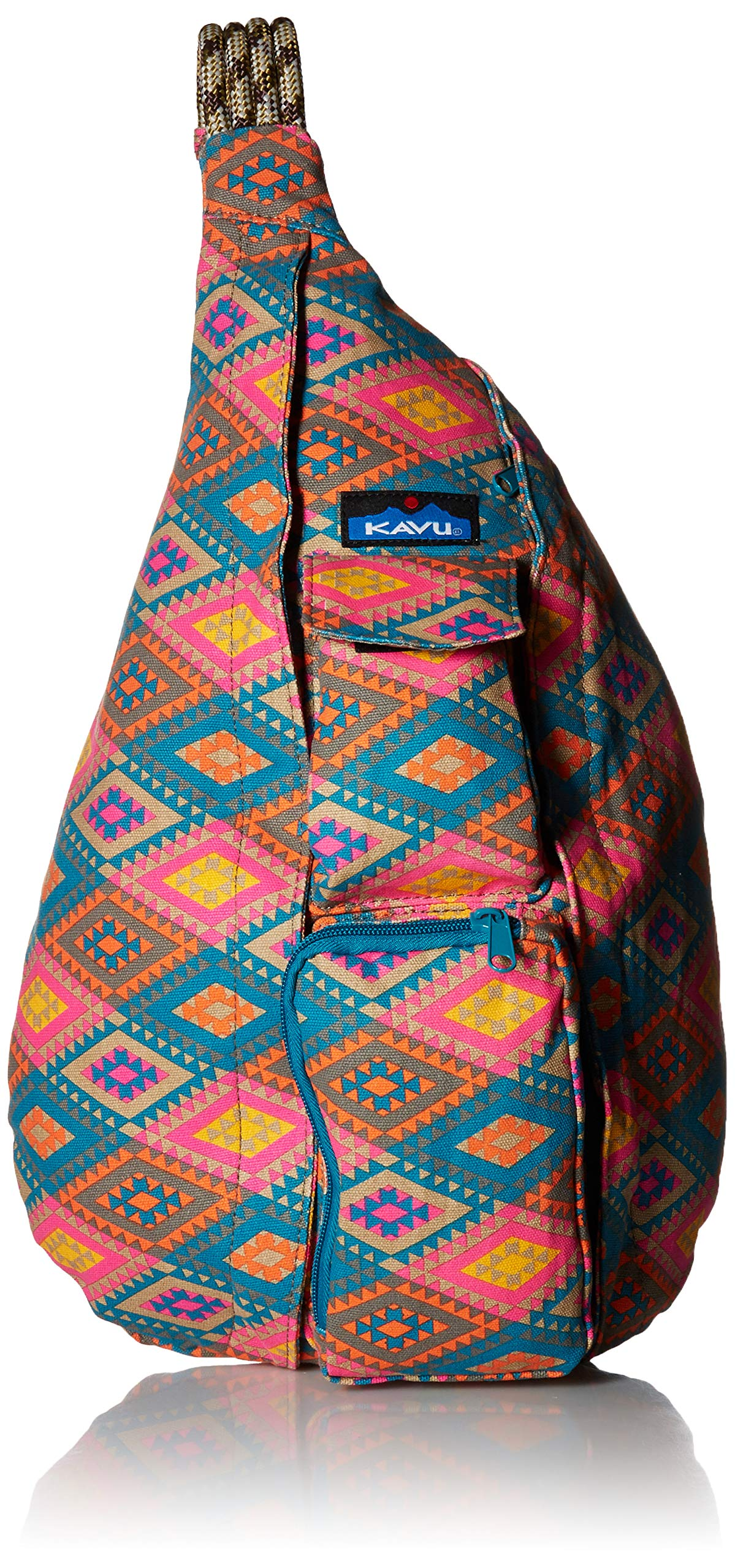 KAVU Women's Rope Bag, Rhombus Rug, No Size by KAVU
