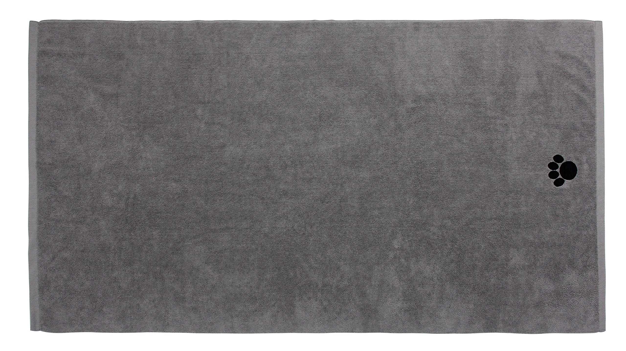 DRI Ultra Absorbent Microfiber Pet Towel (X-Large (55 Inch by 28 Inch), Grey)