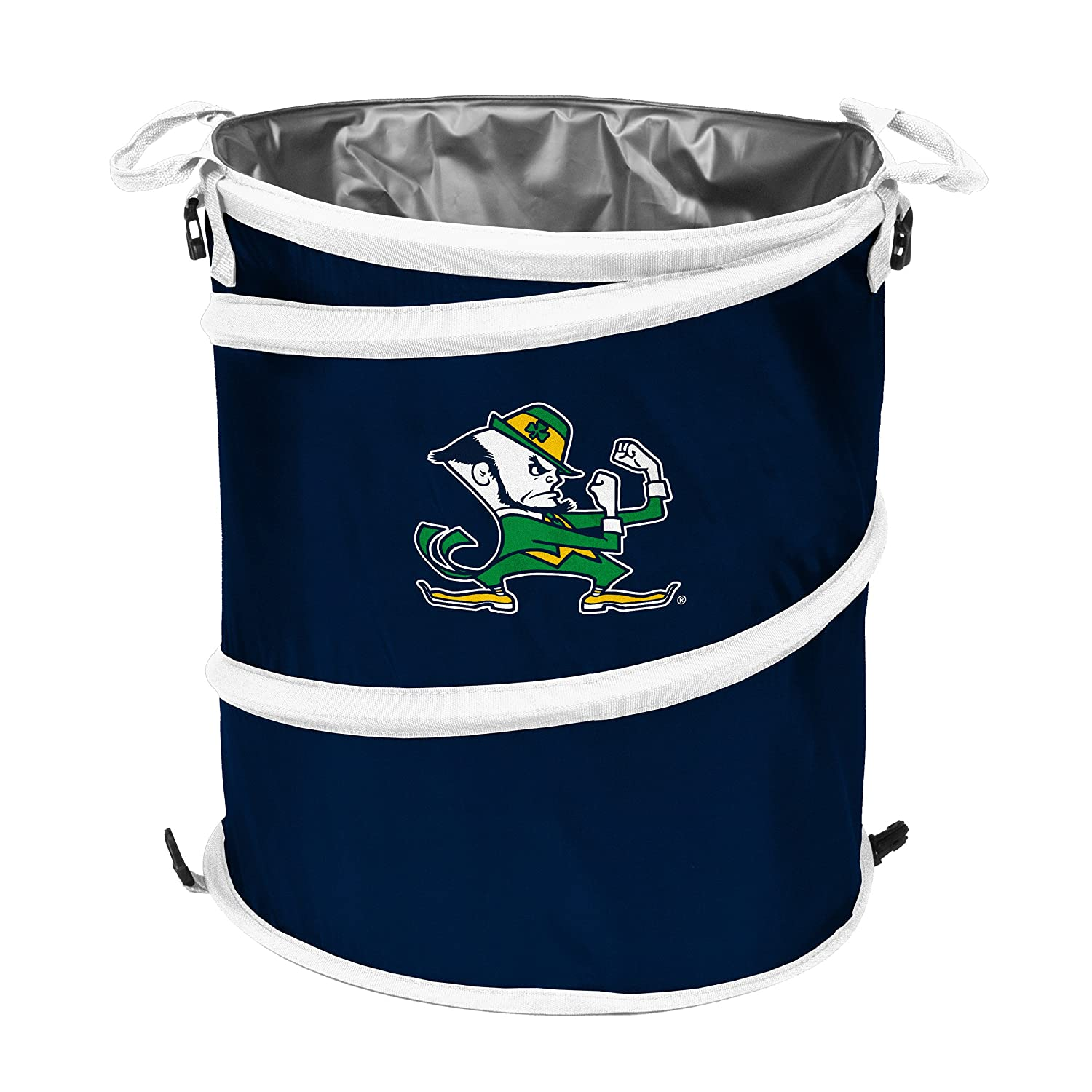 Logo Brands NCAA Notre Dame Fighting Irish Collapsible 3-in-1 Navy//White
