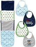 Simple Joys by Carter's Baby Boys' 8-Pack Burp Cloth and Bib Set