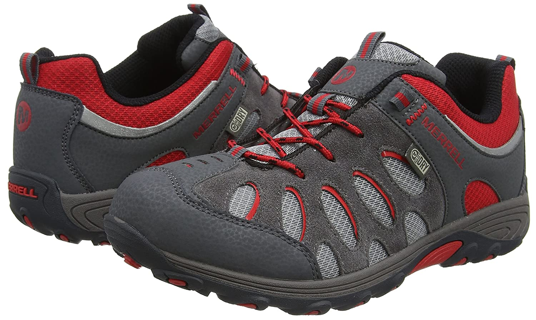 Zapatos de Low Rise Senderismo para Ni/ños Merrell Chameleon Lace Waterproof