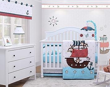 6-Piece Chevron Yellow Baby Boy Girl Nursery Crib Bedding Sets By OptimaBaby