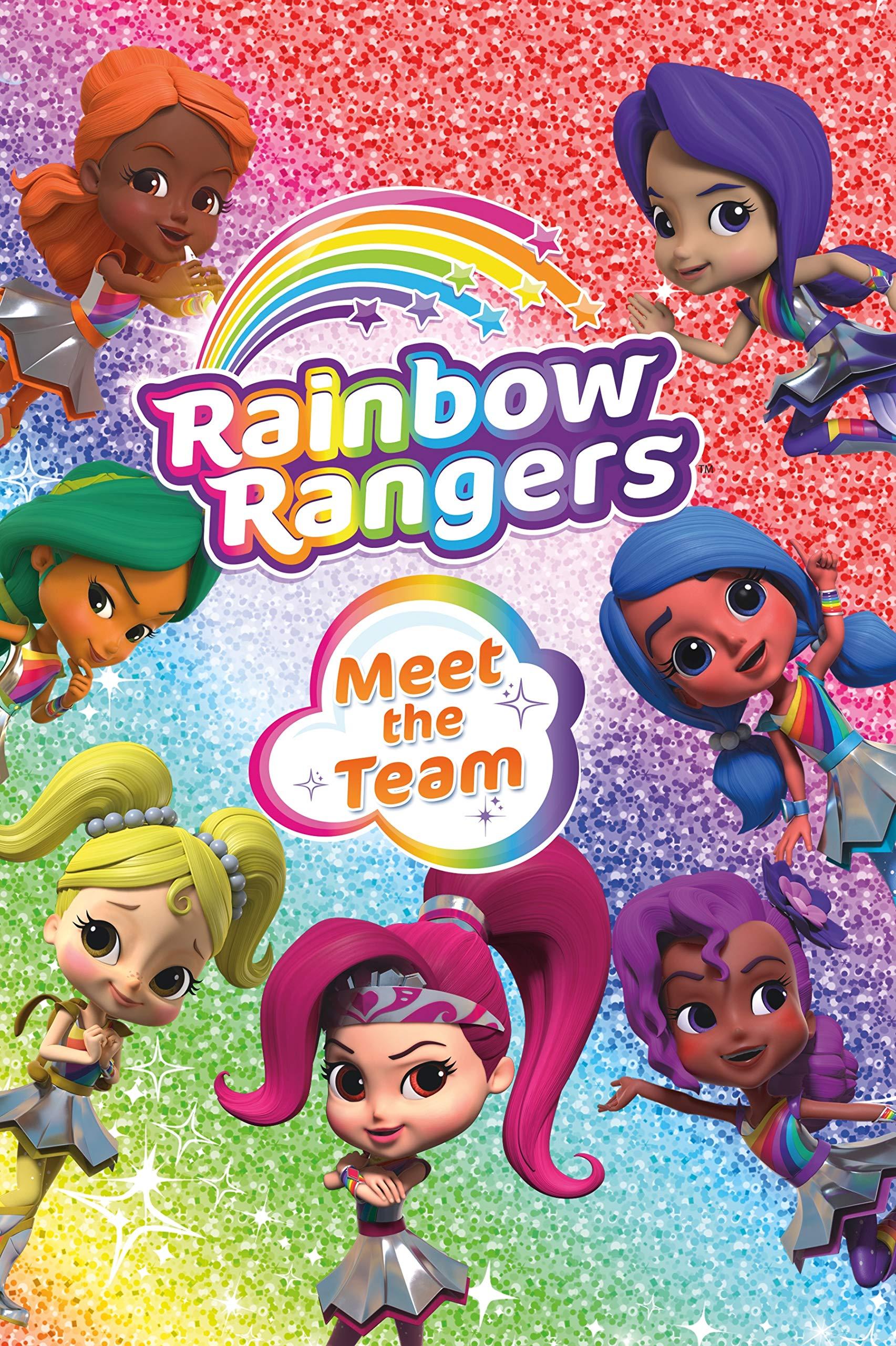 Rainbow Rangers Meet The Team Greene Summer 9781250190314 Books Amazon Ca