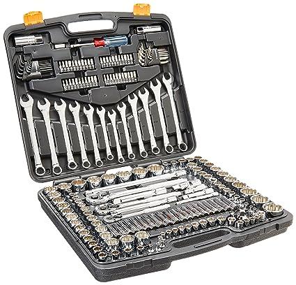Truper 12894 / JD-199MP - 199 Pcs, Std & mm Wrench Set ...