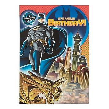 Amazon.com: Batman General tarjeta de felicitación de ...