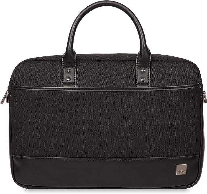 "Knomo Luggage Princeton 15.6"" Laptop Laptop Briefcase"
